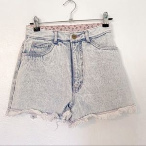 Rio by Stephen Marco Vintage High Waisted Shorts